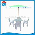 240cm*6k parte giardino ombrello di plastica di lusso