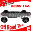 Brushless Electric Skateboard,electric skate board with off road wheels