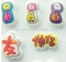 Custom Mini pvc sticker cute phone sticker