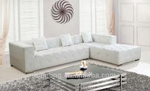 LK-3569 Beautiful leather cover design living room furniture