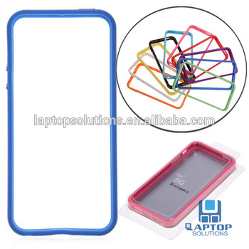 Wholesale Colorful Soft TPU Bumper case for iPhone 5