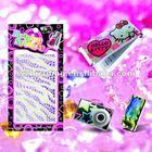 Mobile phone bling sticker