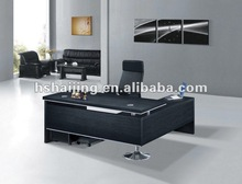 East Asia classic melamine executive office desk/L-shade computer desk