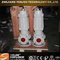 Não- obstrução centrífuga bomba submersível, toyo bomba
