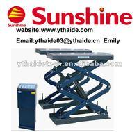 SXJS3018 scissor auto repair tools/scissor lift
