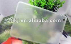 Clear soft TPU cover case for ipad mini buffer