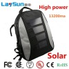 solar bag solar charger back bag high power with CE ROHS certificate china ningbo manufacture