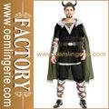 Elite carnaval hombre guerrero vikingo traje
