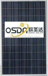panel solar poly module 250w