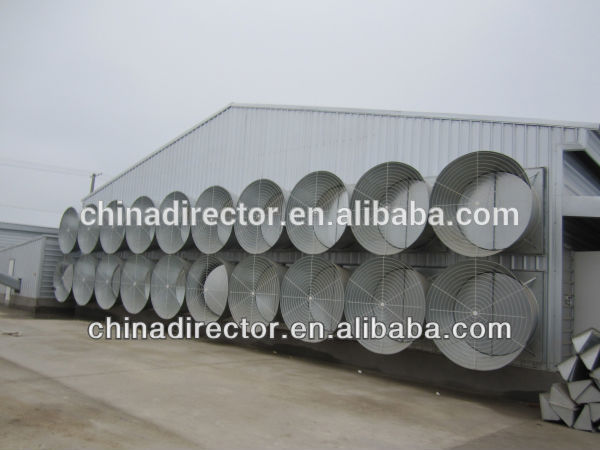 Prefabricated steel building industrial shed chicken farm chicken houses
