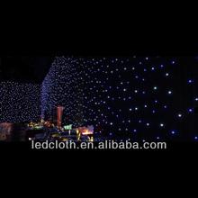 hot selling good quality led light fiber optic curtain