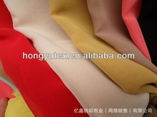 100D polyester chiffon fabric solid dyed