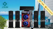Windows xp pc speaker driver with USB,SD,FM,Remote Control,Dynamic VFD Display