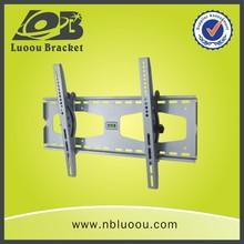 Adjustable led tv mount vesa 600x400 mm tv wall mount with dvd shelves