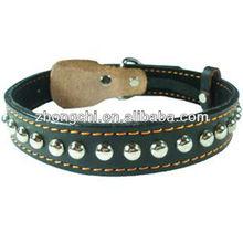 Wholesale Leather pet collar-ZD4004