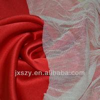 100%Silk net farbric silk tulle