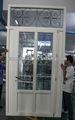 Diseño de puerta de madera, de aluminio, de vidrio, de hierro