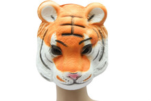 High Quality Halloween Party EVA tiger mask ( animal mask without plush )