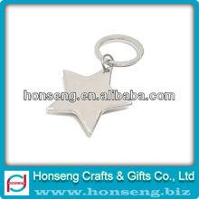 Metal Blank Keychain With Custom Logo
