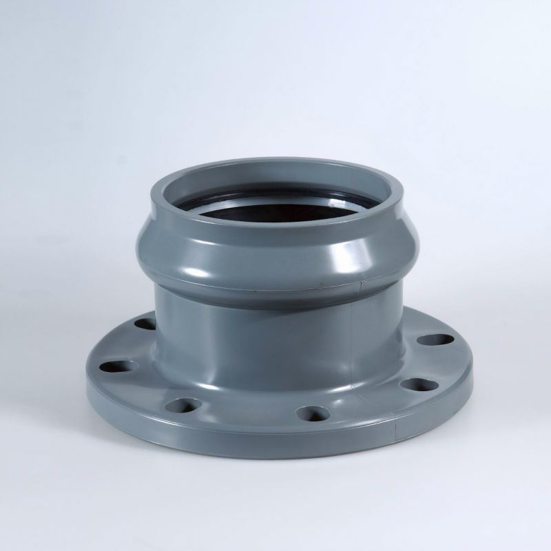 Pvc fittings pipe flange view