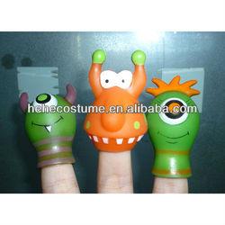 wholesale sale children ET alien rubber finger puppet
