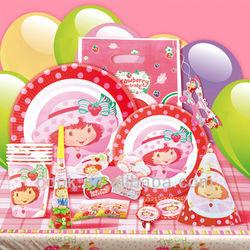 cartoon decoration party set supplies