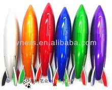Novelty rocket shape ball pen for promotion
