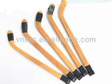 wood hockey stick shape ball pen