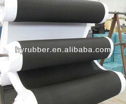 Black anti-slip Natural Rubber foam sheet/roll/pad/mat