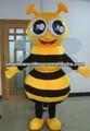 2014 boa qualidade abelha carnaval mascote traje adulto trajes da abelha