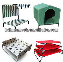 Factory direct specialized in pet bed with metal frame,dog bed