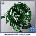 Atacado pêra topázio swiss/esmeralda/amy/garnet gemstones cz com qualidade aaa, cz gema de compradores na china, china gemstone