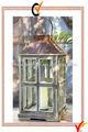 francés país hogar y jardín de madera de la vendimia candelita linterna