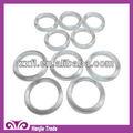 baratos de plástico transparente branco anel bra lingerie para