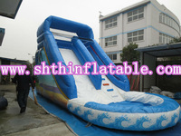 cheap inflatable water slide for sale / large water slide