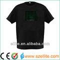Larga vida útil del led t- shirt