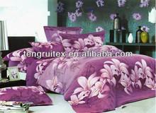 100% Polyester 90GSM Diamond Velvet Bedsheet