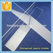 Thick and thin square optical quartz glass plate