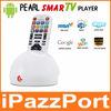 اللؤلؤipazzport التلفزيون الذكية لوحة المفاتيح والصوت لاعب التلفزيون النائية