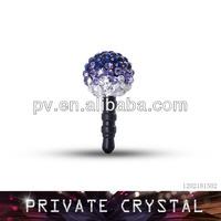 Fashion phone accessory crystal jewelry