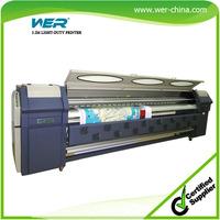 High quality 3.2m WER S3208 Plotter De Impresion Solvente