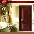 hdf interior de madeira da melamina pele da porta