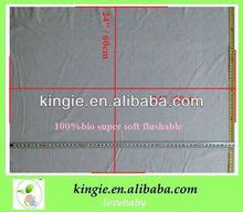 """disposable flushable liner,waterproof liner, not dissolve,biodegradable liner, super soft, 24""""*24""""/sheet"""