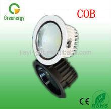 Greenergy Lighting high quality Hot 800lm AC85-265V led 15 watt cob down light
