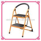 Foldable Heavy Duty 2 Steel Step Ladder/Stepladder Non Slip Tread Safety Kitchen Stool domestic ladder