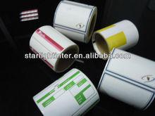 Adhesiva térmica de papel