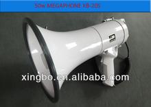 50 w haute puissance blanc mégaphone avec sirène 50 w 12 v pour gros