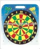 "18"" flocking dart board"