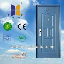 Powder coating steel door Model design TX--016