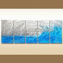 Handmade Aluminium OEM Painting Metal Wall Art Decor